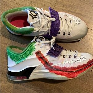 Custom Joker Nike Kd Basketball Shoes